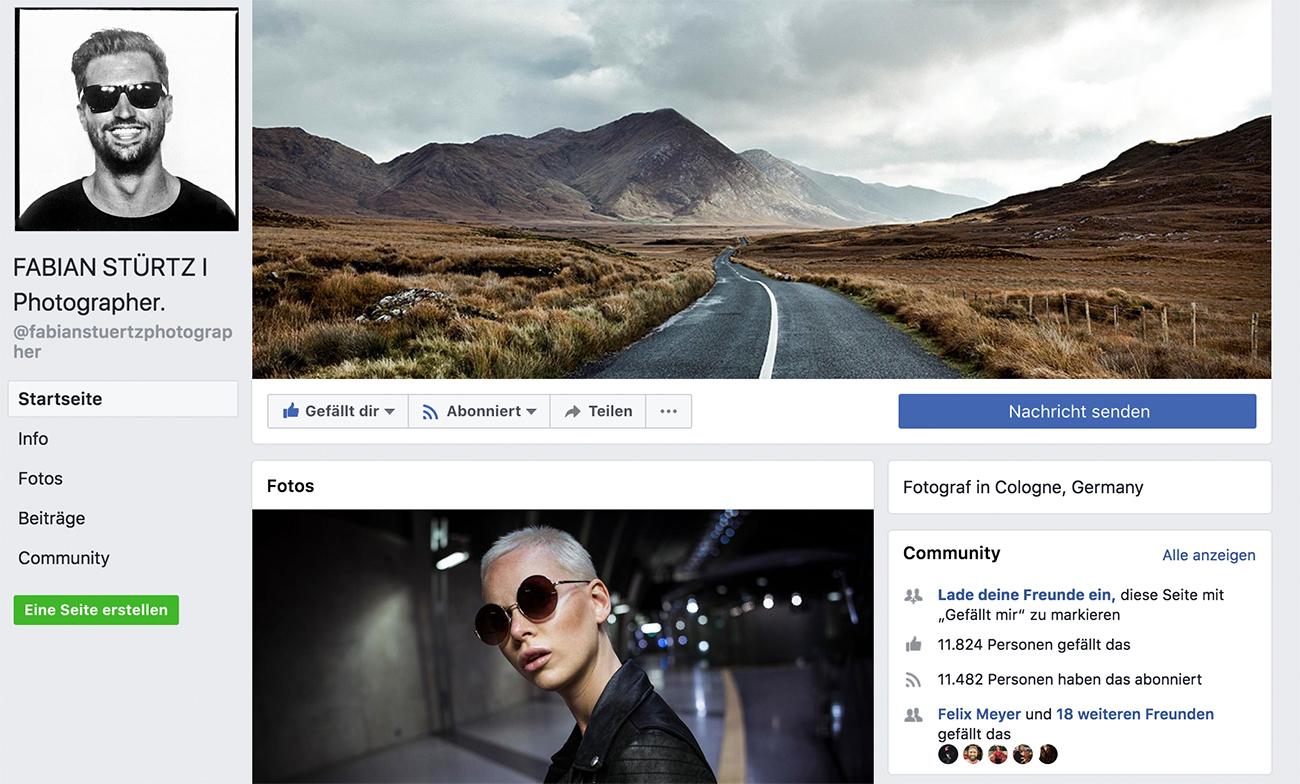 Selbstvermarktung als Künstler auf Facebook