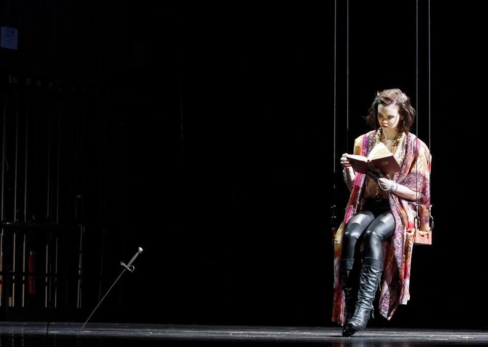 "Tatiana Feldman als Amalia in Schillers ""Die Räuber"", Regie Francis Hüsers, Fotos: Klaus Lefebvre"