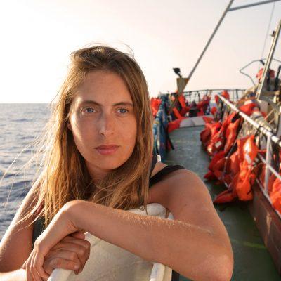 Signe Zurmühlen rettet Flüchtlinge im Mittelmeer