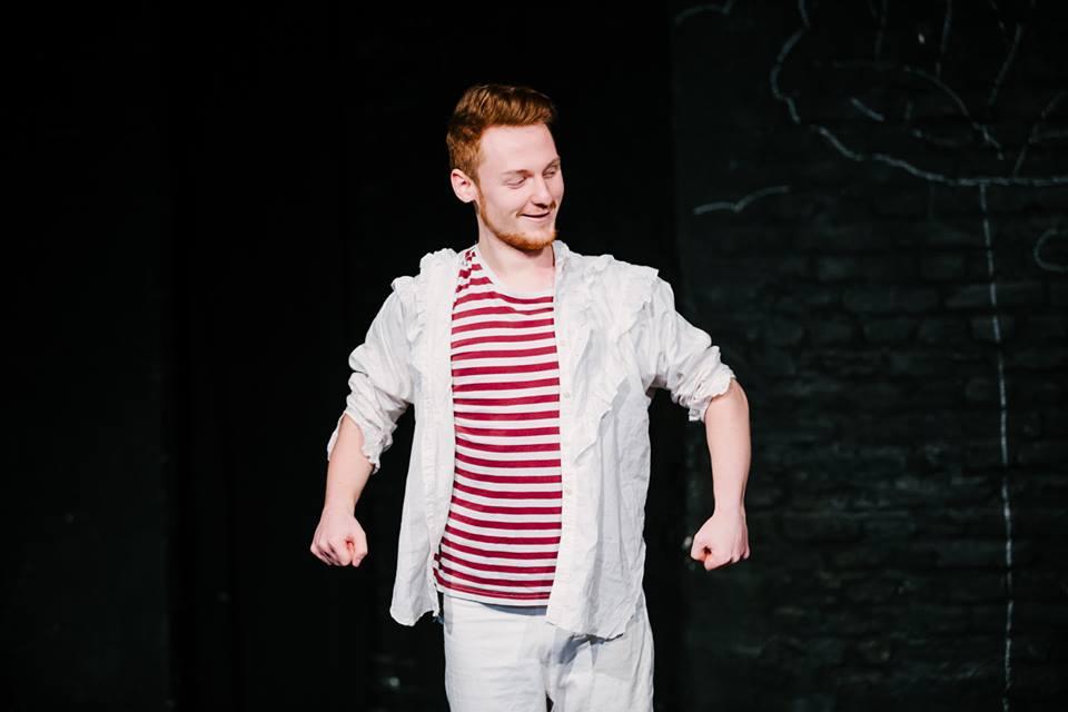 Benedict Dörpinghaus im dritten Jahr der Schauspielausbildung