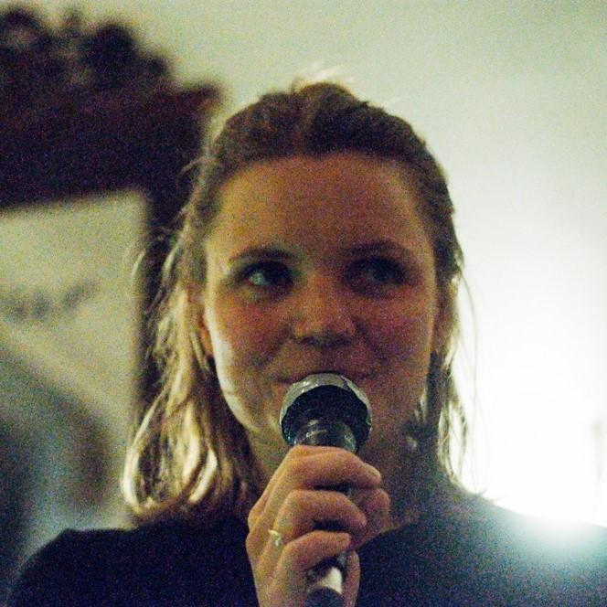 Melissa Moßmeier moderiert im Rahmen des Auftakt Festivals