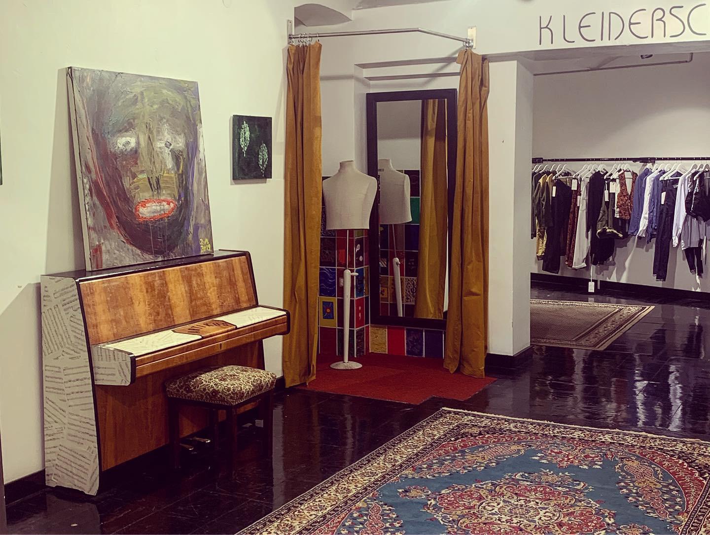Artikus: Showroom, Verkaufsfläche für individuelle Mode und Kreativraum