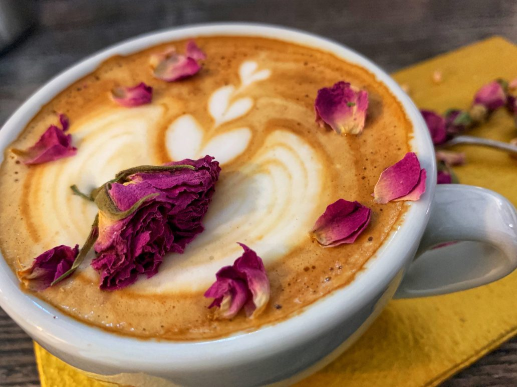 definitiv Teil der Message: guter Kaffee im Artikus